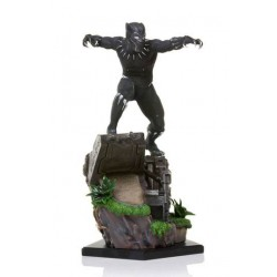 Black Panther Battle Diorama Series Statue 1/10 Black Panther 26 cm