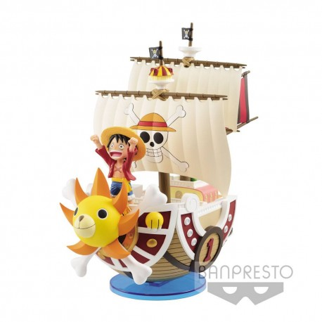 One Piece Mega WCF Figure Thousand Sunny 19 cm