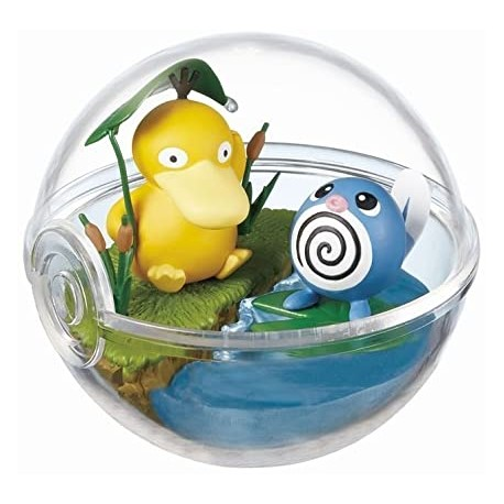 Pokemon Terrarium Collection 2 - Psyduck Poliwhirl