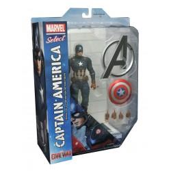 Marvel Select - Civil War - Captain America