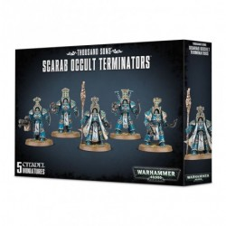 Warhammer 40,000 - Thousand Sons - Scarab Occult Terminators