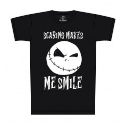 T-Shirt - Nightmare Before Christmas Scaring Makes Me Smile