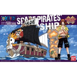Bandai One Piece Grand Ship Collection Spade Pirates Plastic Model Kit