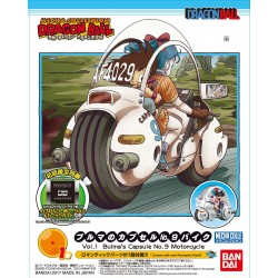 Dragon Ball Mecha Collection Vol.1 - Bulma's capsule NO.9 motorcycle - Plastic Model Kit (Japan Import)