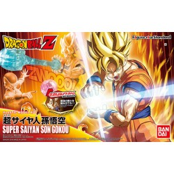 DRAGON BALL - Figure-rise Standard Super Saiyan Son Goku Model Kit Bandai